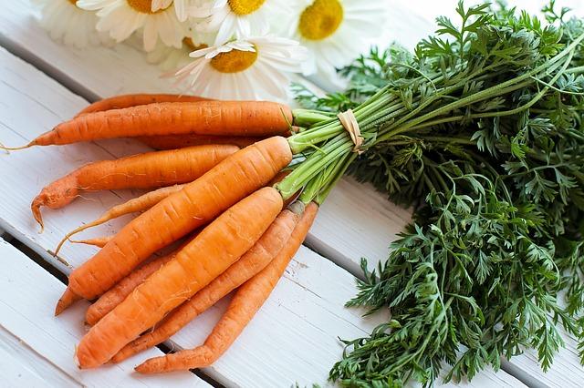 Des carottes pour des recettes végétariennes