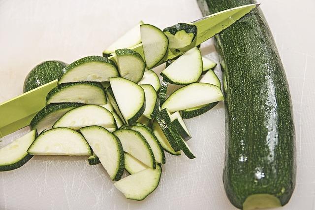 Courgettes pour des recettes végétariennes