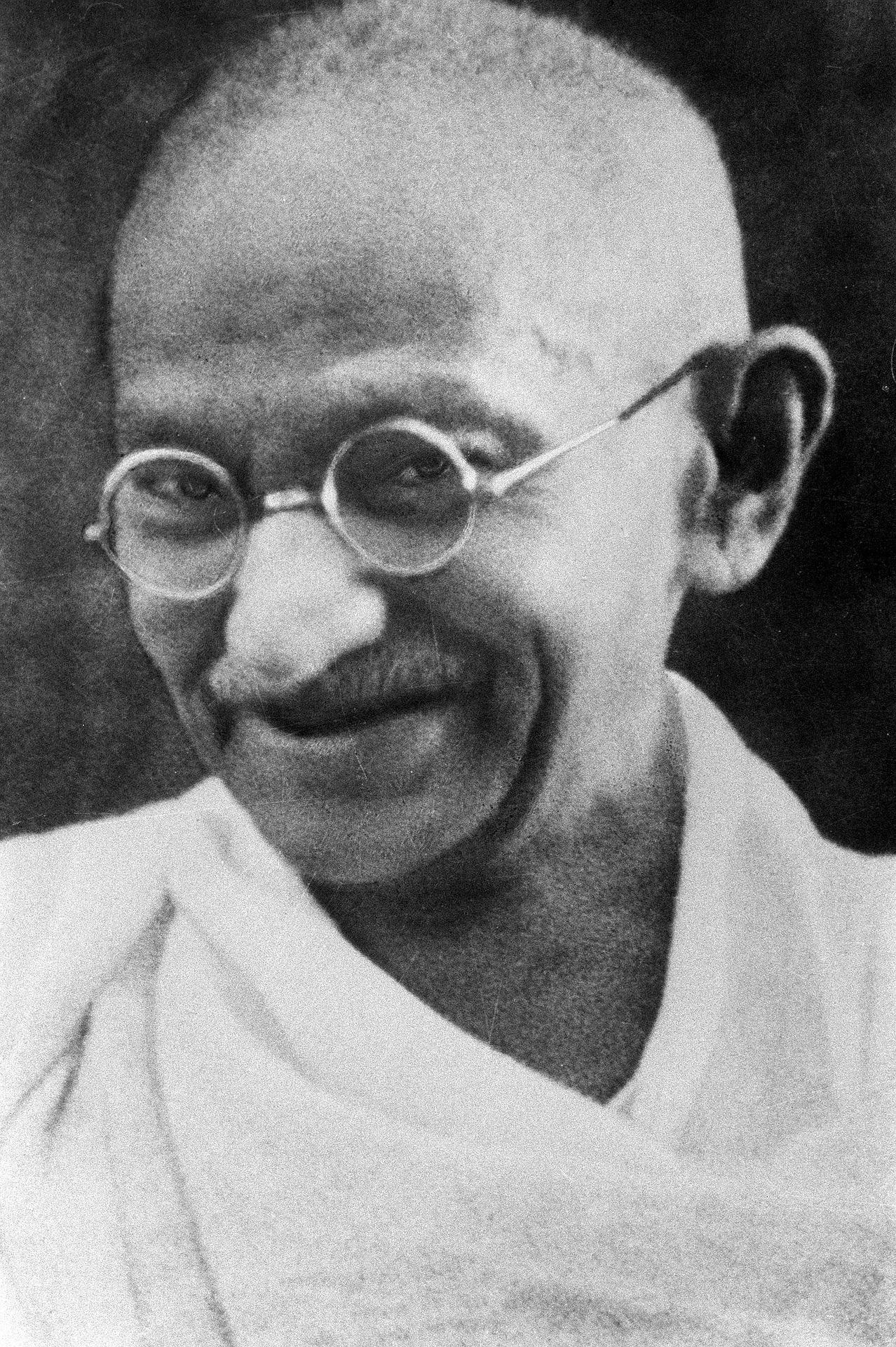 Gandhi, un homme à l'esprit zen