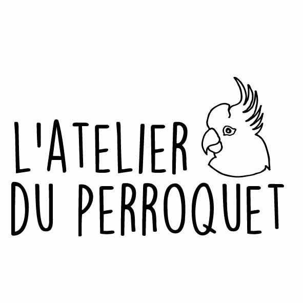 Logo de l'Atelier du perroquet (Made in France) sur Prends en Soin