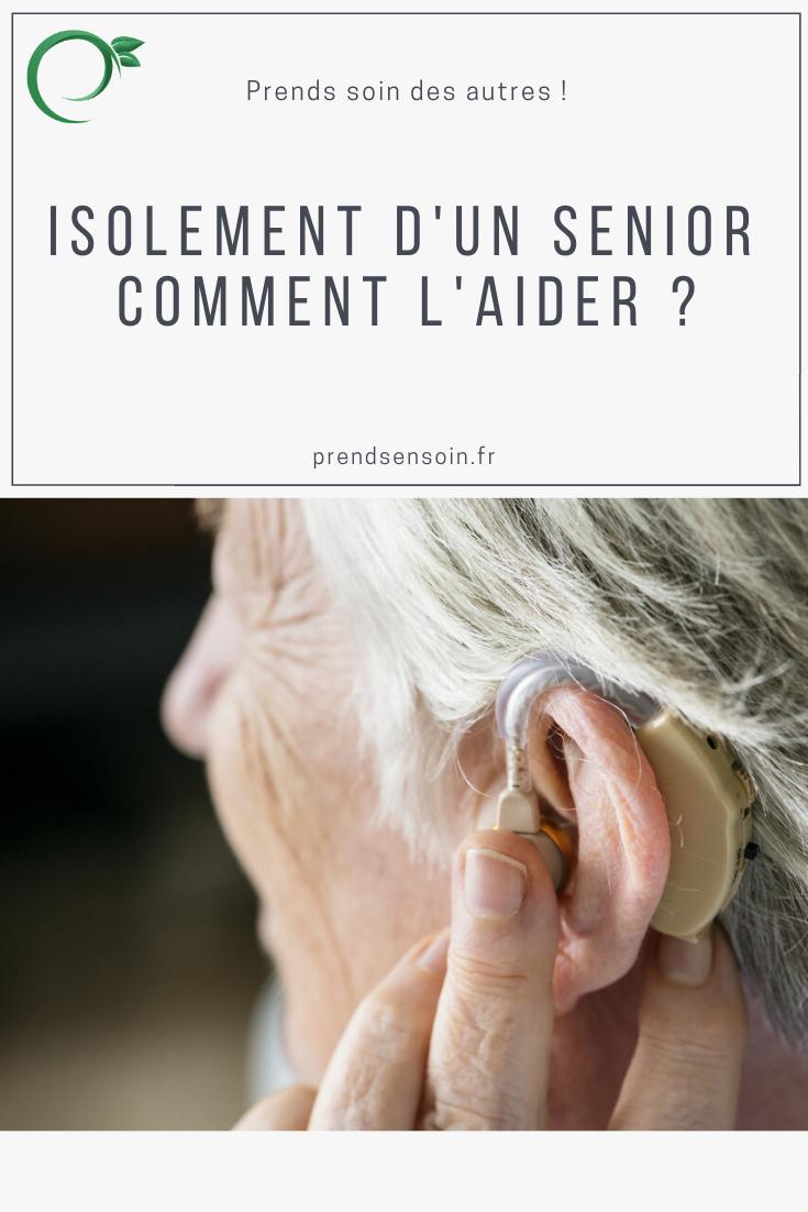 Isolement d'un senior : comment l'aider ?