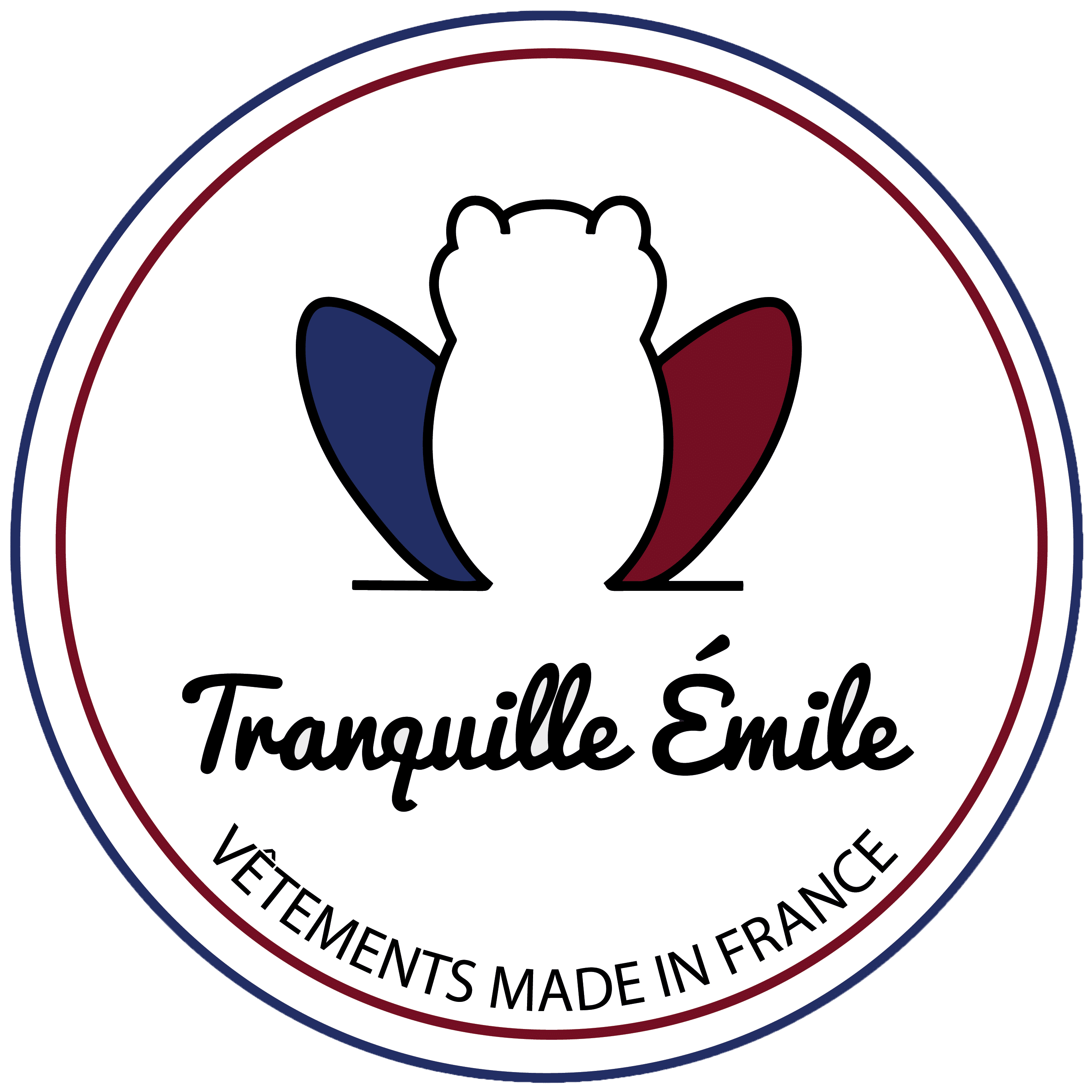 Logo Tranquille Emile - Made in France