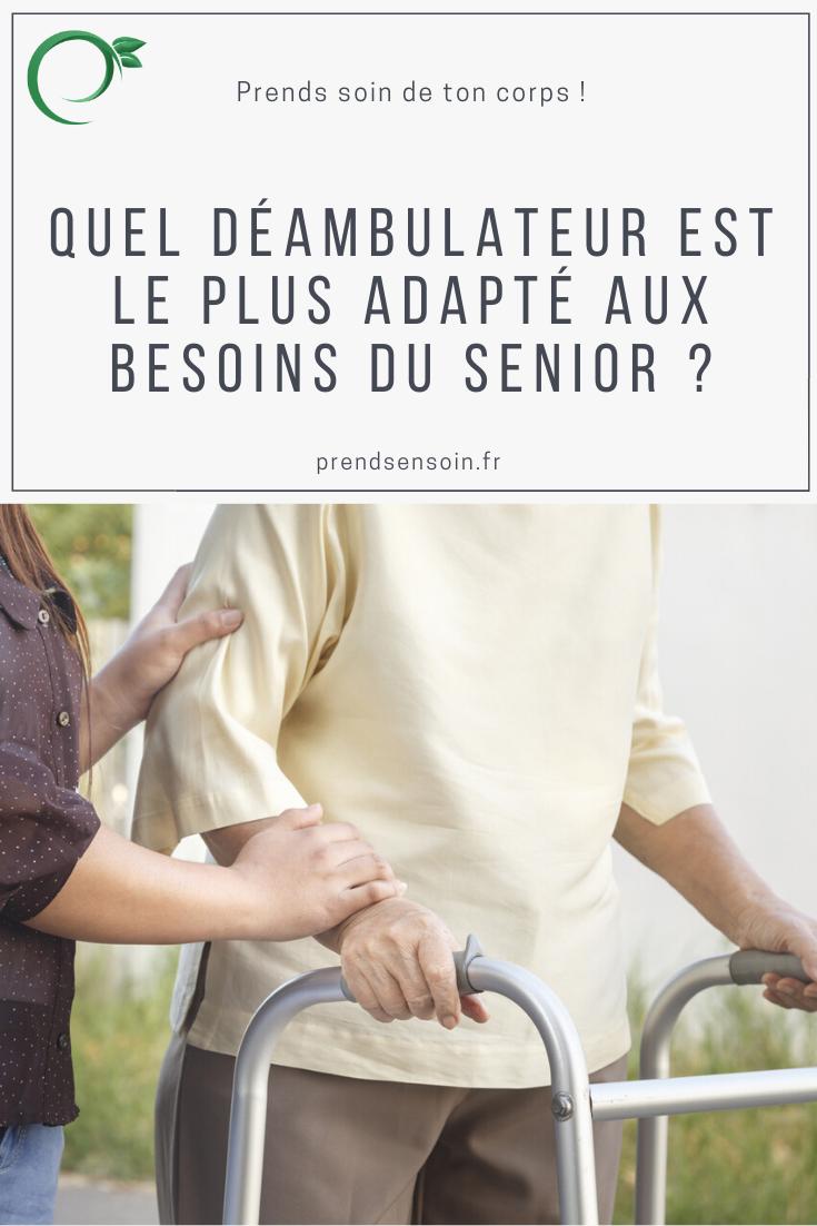 Quel déambulateur est le plus adapté aux besoins du senior ?
