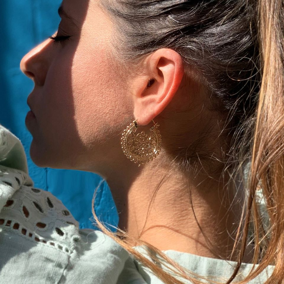 Boucle d'oreille Jolimie