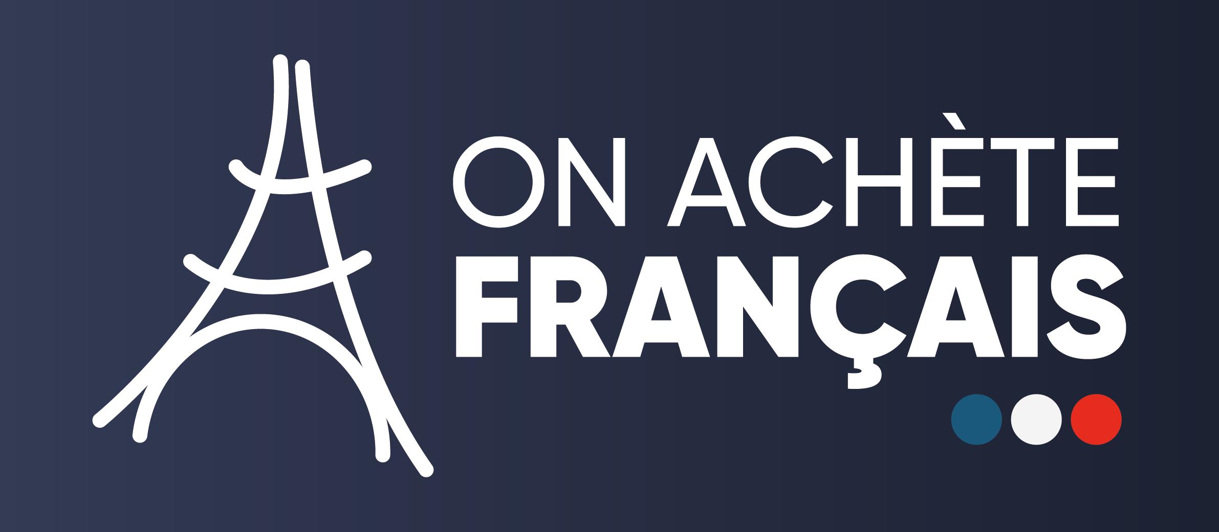 Logo de On achète français (enseigne Made in France)
