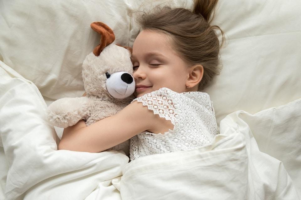 Les enfants atteints de troubles du sommeil n'ont pas la même enfance que les autres