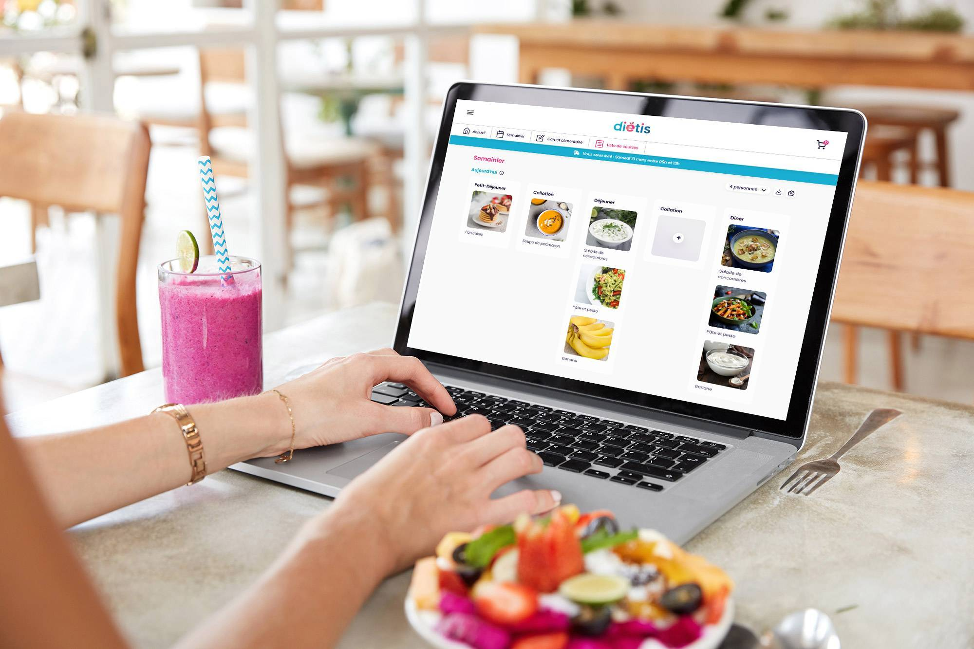 Planificateur de menus intelligent Dietis