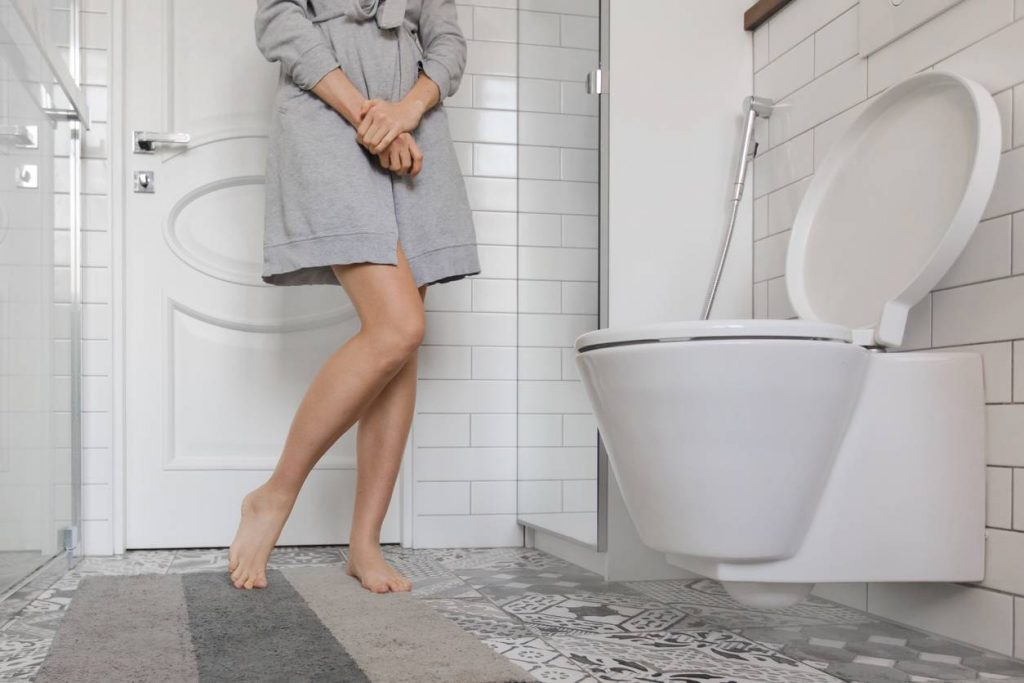 incontinence urinaire d'effort symptôme